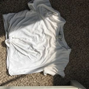white top crop top from forever 21!
